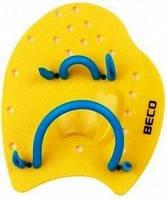Лопатки для плавання (ласты для рук) Beco 96441 M желтые