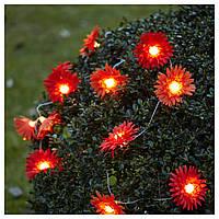 SOLVINDEN Украшения для освещения, цветок красный