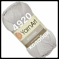 YarnArt- Begonia (бегония)-4920 (светло серый- серебро)