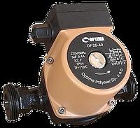 Циркуляционный насос Optima OP25-40 130 мм + гайки, + кабель с вилкой