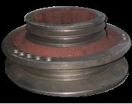 Шкив двигателя  привода ходовой части СК-5М НИВА 54-10253-01 со ступицей цельно литой
