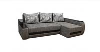 Угловой диван Garnitur.plus Граф графитовый 245 см