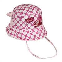 Детская шляпка Минни розовая, Дисней (Disney)