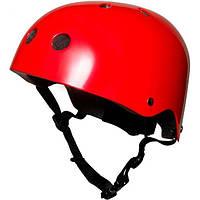 Шлем детский KiddiMoto красный металлик, размер S 48-53см