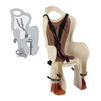 Сиденье для детей Longus BASELI Carrier на багажник, бежевое Special Edition