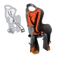 Сиденье для детей Longus BASELI Standard на раму, серо-красное Special Edition