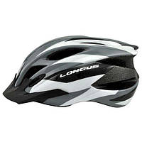 Шлем Longus ERTURIA InMold, серый, сетка, размер S/M, 52-58см