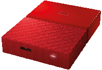 HDD 2TB USB 3.0 2.5 WD My Passport Red WDBYFT0020BRD-WESN