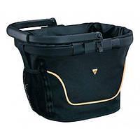 Корзина на руль Topeak HB Chopper Basket 20л, полиестер, алюм. рамка и ручка, с/фикс. F8