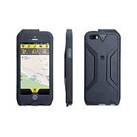 Футляр для телефона Topeak Weatherproof RideCase iPhone 5, с креплением RideCase Mount, черный/серый