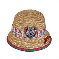 Детская соломенная шляпка Минни, Дисней (Disney)