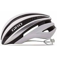 Шлем Giro Synthe матовый белый/серебристый, M (55-59см)