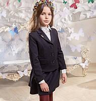 Школьный жакет Аделаида Suzie на девочку Размеры 146- 158 Цвет черный