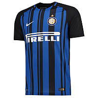 Футбольная форма Интер черно-синяя сезон 2017-2018