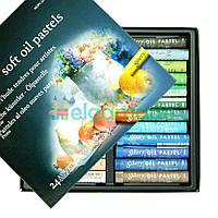 Пастель масляная мягкая, Mungyo, MOPV-24, 24 цвета, фото 1