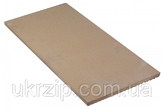 Плита шамотная огнеупорная 715x357x20мм (арт. 850112) для пицца печи Cuppone и др.