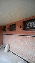 Грати віконні декоративні зі збільшеним нижнім радіусом, фото 3