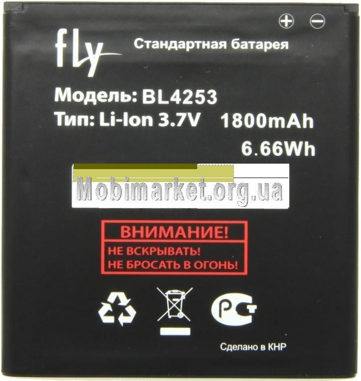 Акумулятор BL4253 для Fly IQ433 original 1800mAh - МОБІМАРКЕТ в Львове