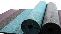 Резиновый коврик 1500х700х10 голубая