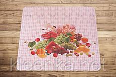Салфетка-подставка под горячее с фруктами 50см*50см