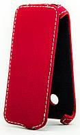 Чехол Status Flip для Samsung Galaxy J2 J200 Red