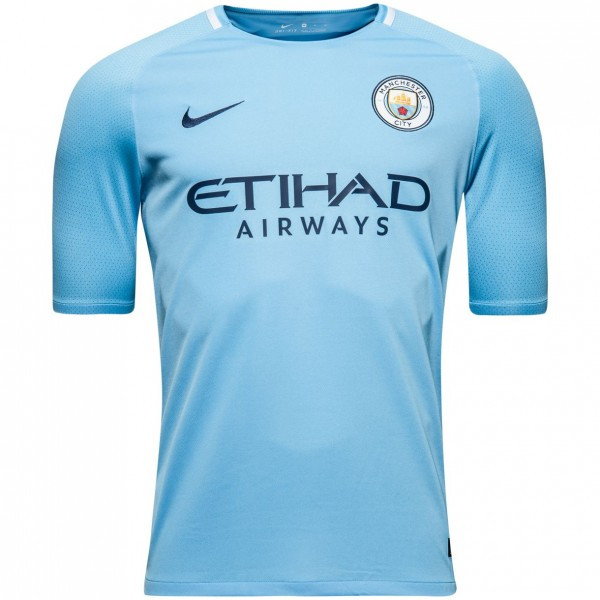 Купить Футбольная форма Манчестер Сити голубая сезон 2017-2018 в ... 3afa6fb99b8