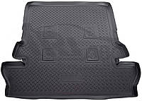 Ковер багажника полиуретановый Norplast для Toyota LC 200 / LX 570 7 местный