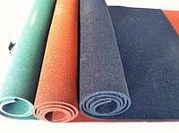 Резиновый коврик 1500х700х10 оранжевая