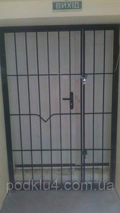 Распашные решетки двустворчатые, фото 2