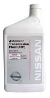 Масло трансмиссионное для акпп nissan matic fluid k, 0.946л