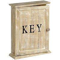 Настенная ключница - декоративный ящик для хранения ключей