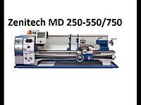 Станок токарный по металлу Zenitech MD250-550/750