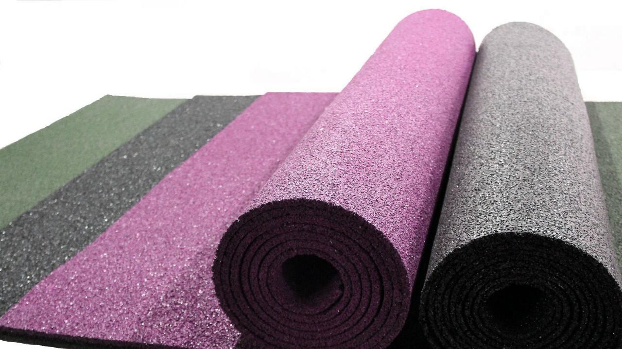 Резиновый коврик 1500х700х10 розовая