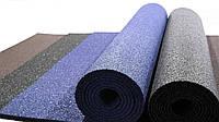 Резиновый коврик 1500х700х10 синий