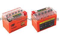 АКБ 12V 4А гелевый (оранжевый, с индикатором заряда)