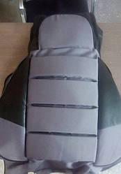 Чехлы на сидушки  2106  Пилот с паралоном серые