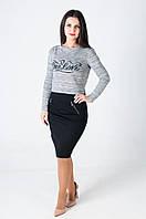 Женская кофта с люрексовой нитью 020211