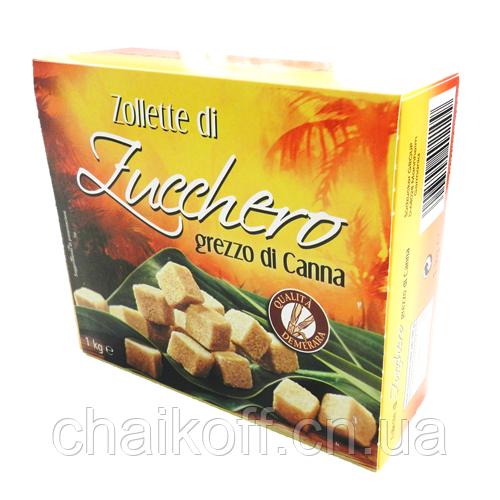 Сахар тростниковый zollette di Zucchero grezzo di Canna 1000 г  (Италия)