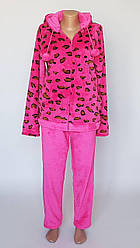 Пижама махровая женская  для домашнего отдыха