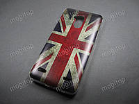 Силиконовый TPU чехол ZTE Blade V7 Lite (British Flag)