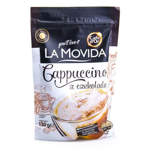 Капучино La movida со вкусом шоколада 130 г