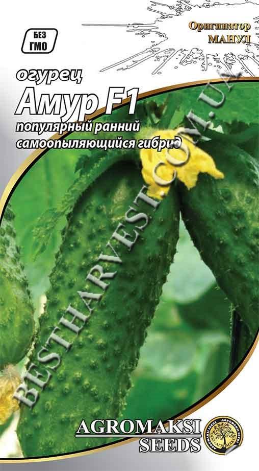 Семена огурца «Амур F1» 0.25 г партенокарпические