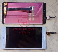 Xiaomi Redmi 4a дисплей в зборі з тачскріном модуль білий