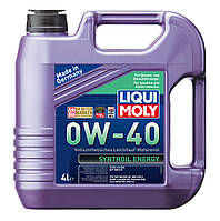 Масло моторное Liqui Moly /ликви моли/ SAE 0W-40 SYNTHOIL ENERGY 4L 7536