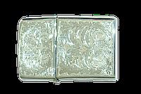Зажигалка серебрянная zippo, фото 1