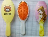 Расческа - щетка  детская, мягкая, антистатическая для распутывания хрупких волос