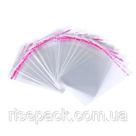 Пакеты полипропиленовые 15х20 с клапаном и липкой лентой для упаковки и фасовки