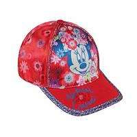 Детская бейсболка Минни красная, Дисней (Disney)
