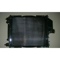 Радиатор вод.охлажд. МТЗ-80 70П-1301.010 с дв. Д-240,243 (4-х рядн.) алюм.(пр-во Юбана, Литва)