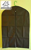 Чехол для одежды 90х60 см на молнии 006 (черный)